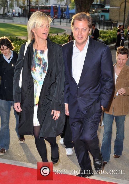 Elisabeth Murdoch and Matthew Freud Samsung 3D Television...