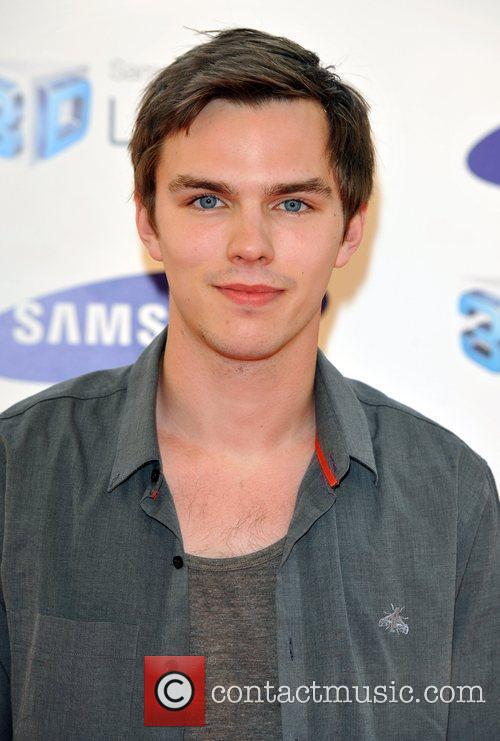Nicholas Hoult Samsung 3D Television - party held...