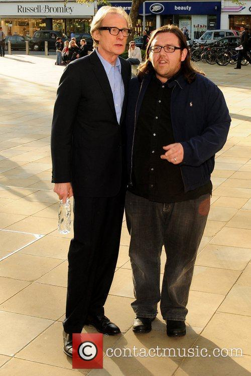 Bill Nighy and Nick Frost Samsung 3D Television...
