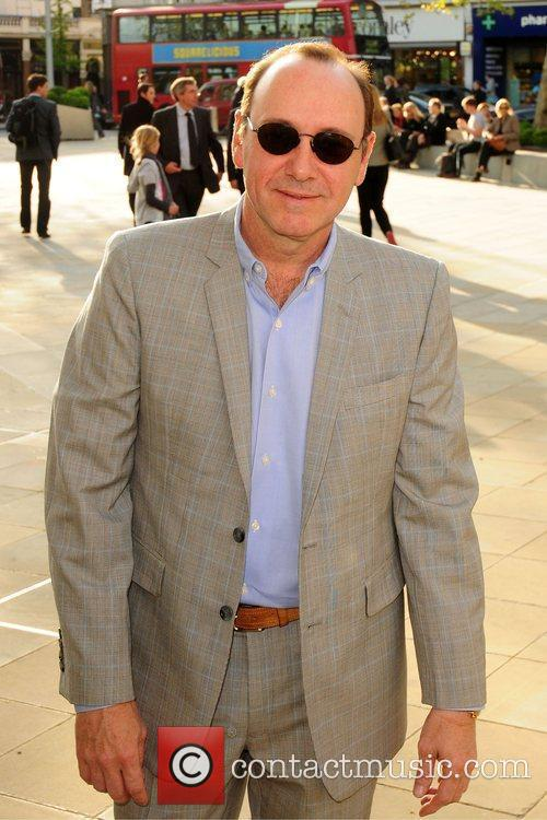 Kevin Spacey Samsung 3D Television party held at...