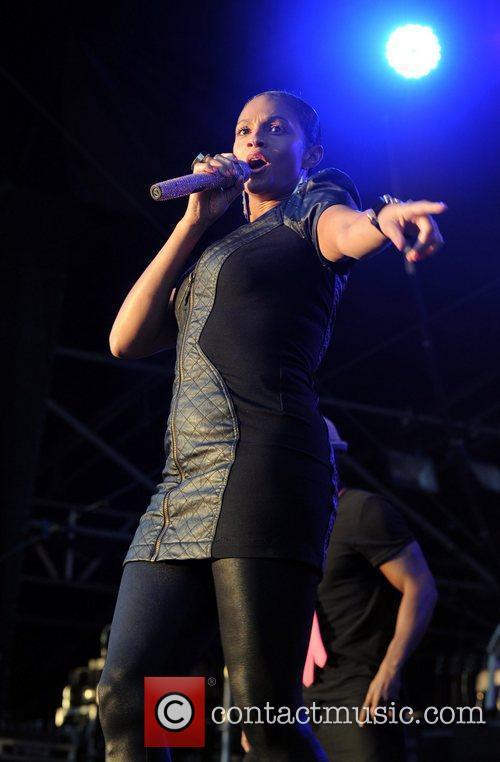 Alesha Dixon The Sandown Park Summer Music Festival...