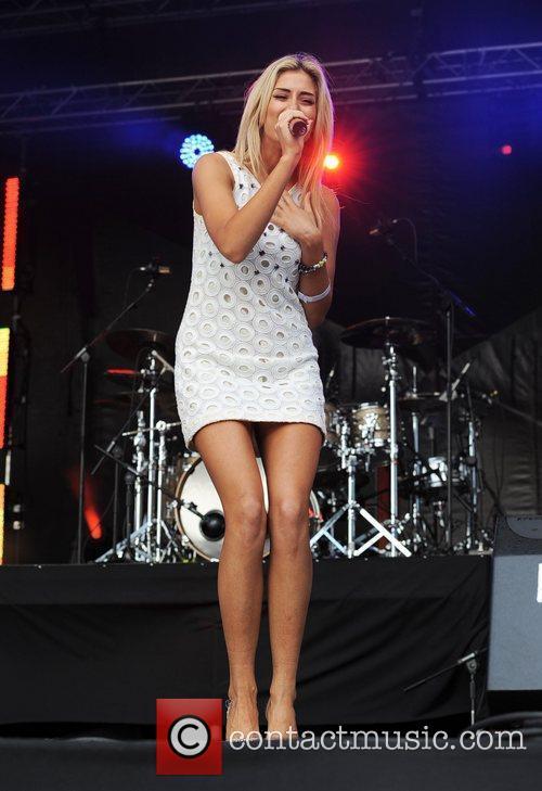 Stacey Solomon The Sandown Park Summer Music Festival...