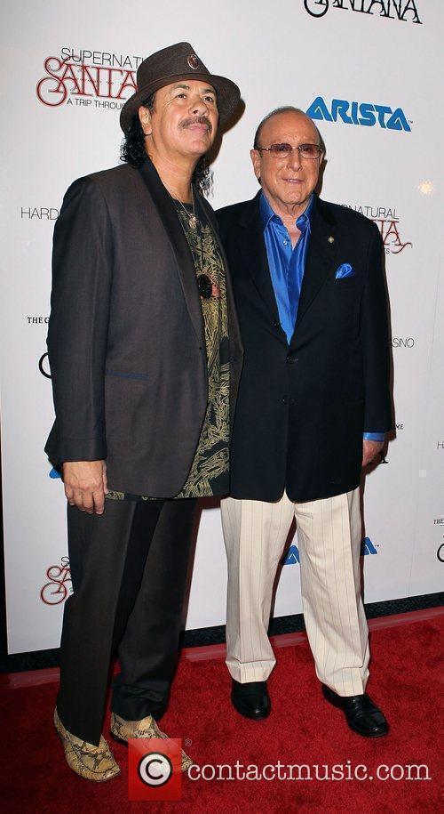 Carlos Santana, Clive Davis and Las Vegas 2