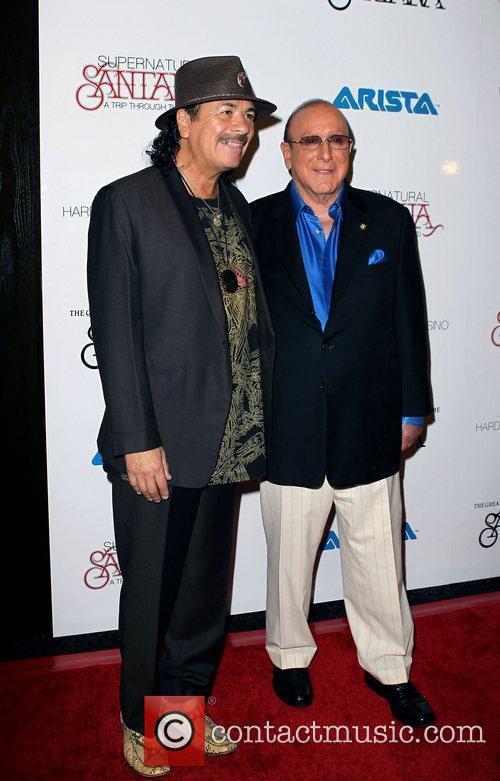 Carlos Santana, Clive Davis and Las Vegas 5