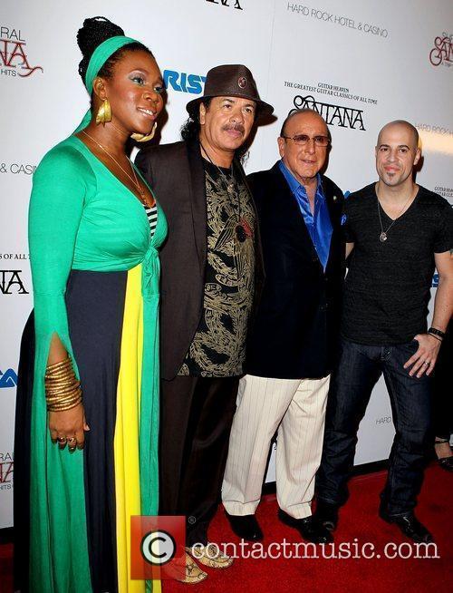 India Arie, Carlos Santana, Chris Daughtry, Clive Davis and Las Vegas 8