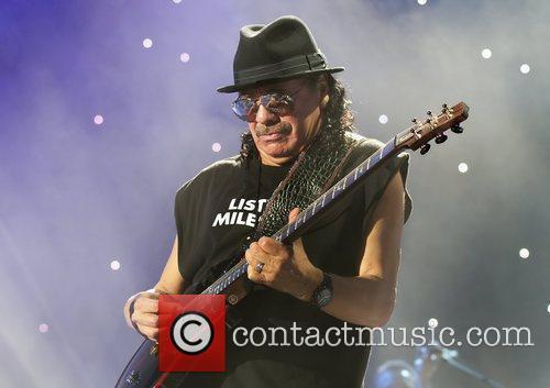 Carlos Santana, Manchester Evening News Arena