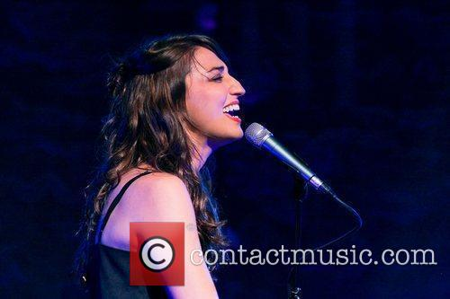 Sara Bareilles performs on stage during the 'Fall...
