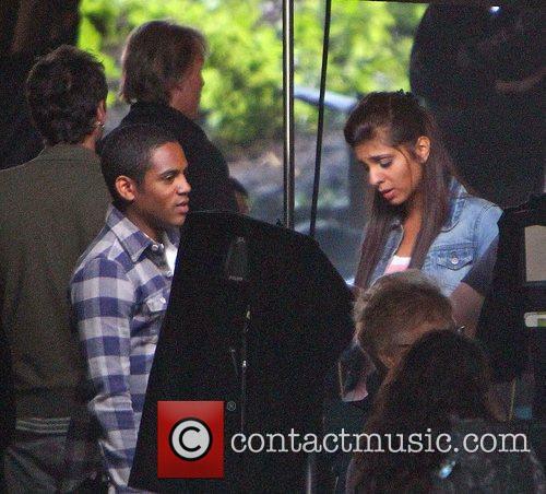 Anjli Mohindra and Daniel Anthony The cast of...