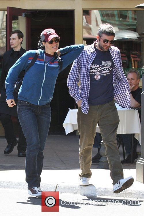 Sarah Silverman  and her new boyfriend after...