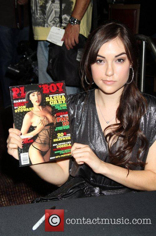 Sasha Grey, Las Vegas and Playboy 6