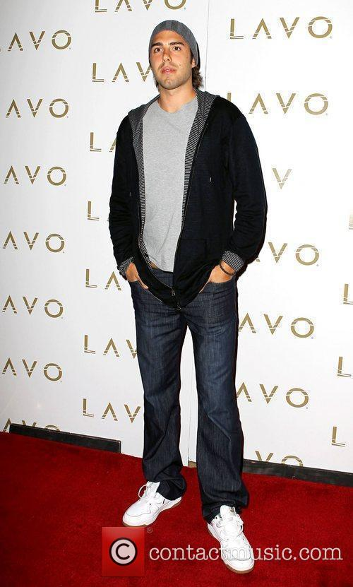 Basketball Champion Sasha Vujacic hosts Lavo for the...