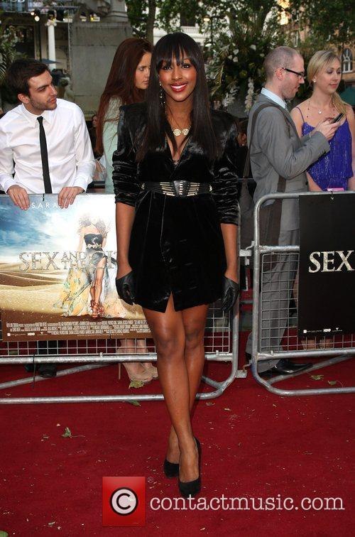 Alexandra Burke and Sex And The City 2