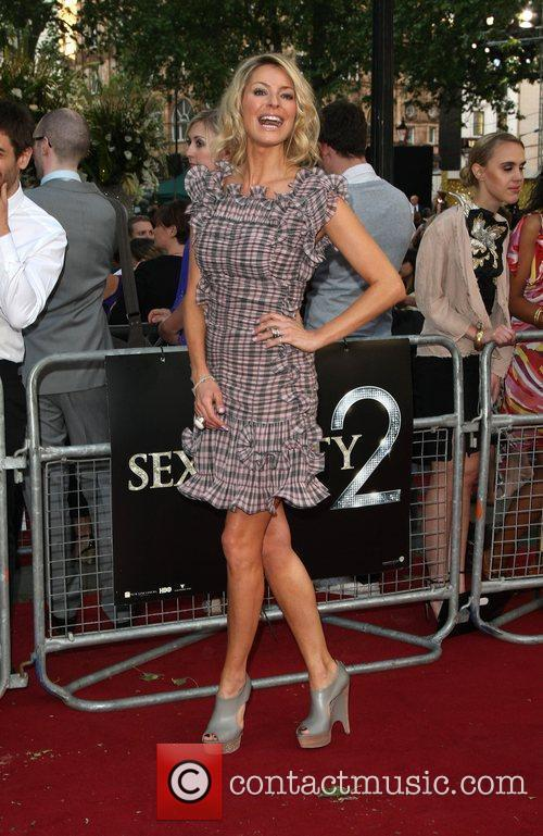 Tess Daly 'Sex and the City 2' UK...