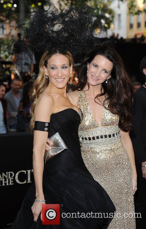 Sarah Jessica Parker and Kristen Davis 'Sex and...