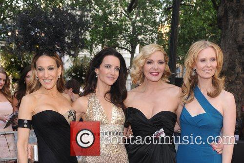Sarah Jessica Parker, Kristen Davis, Kim Cattrall and...