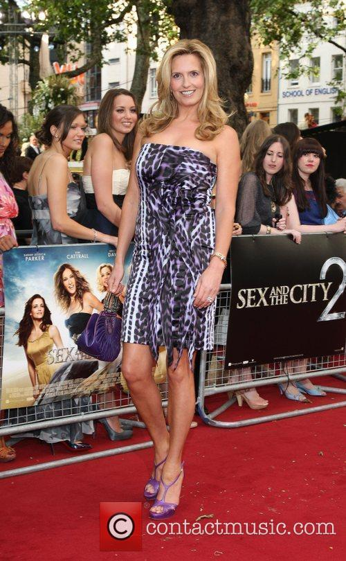 Penny Lancaster and Sex And The City 4