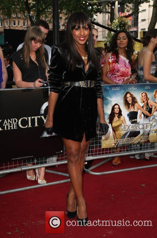 Alexandra Burke and Sex And The City 4