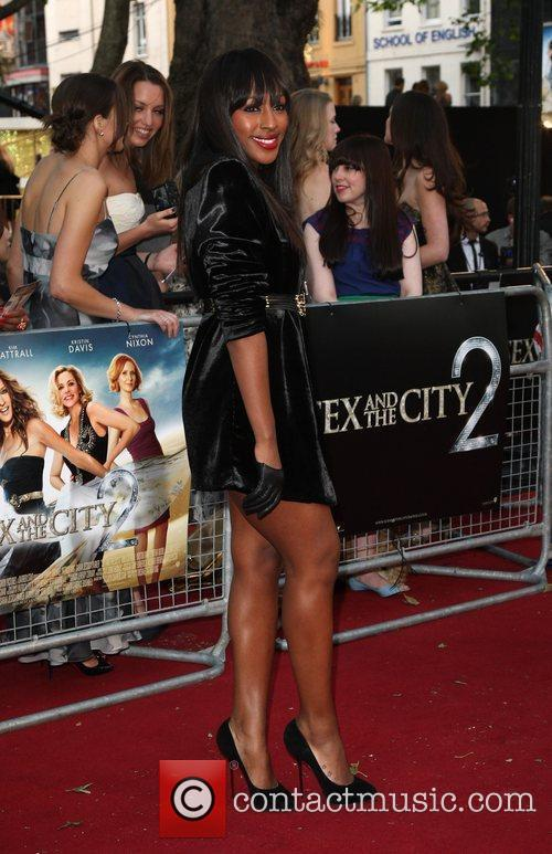 Alexandra Burke and Sex And The City 3