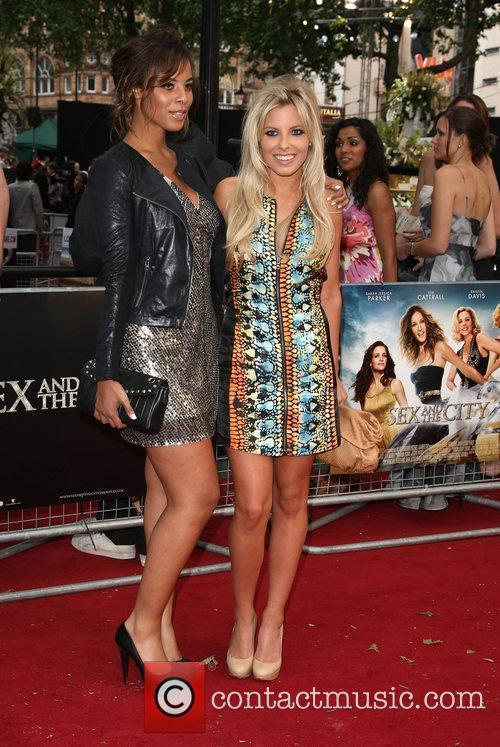 Rochelle Wiseman and Mollie King of The Saturdays...