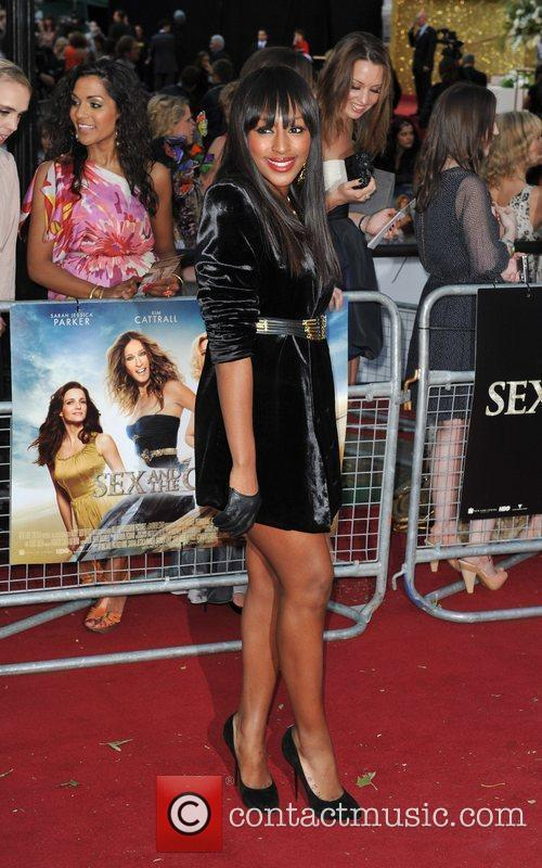 Alexandra Burke and Sex And The City 8