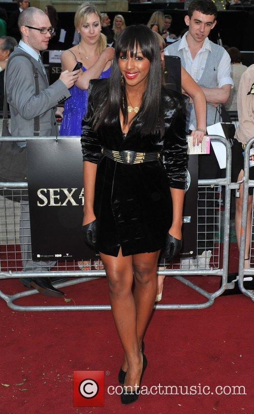 Alexandra Burke and Sex And The City 6