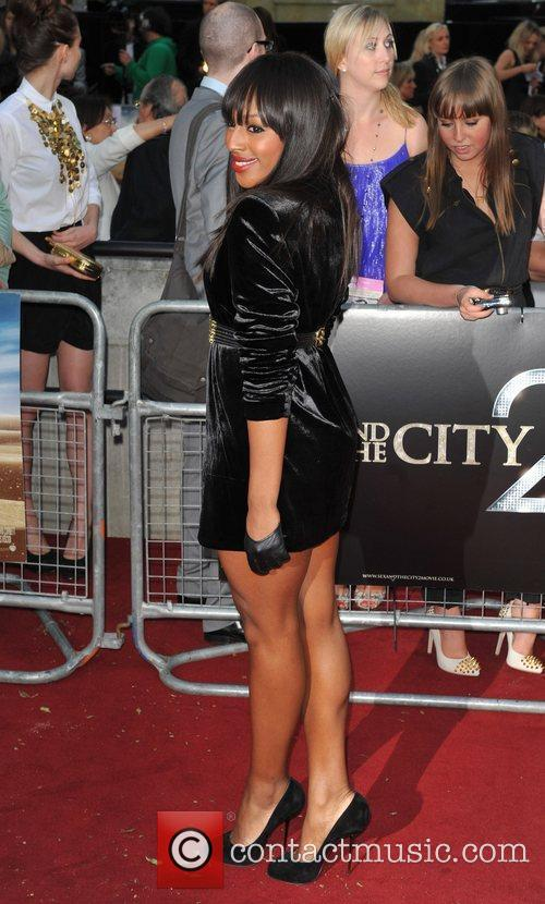 Alexandra Burke and Sex And The City 1