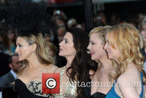Sarah Jessica Parker, Kim Cattrall, Kristin Davis and Sex And The City 5