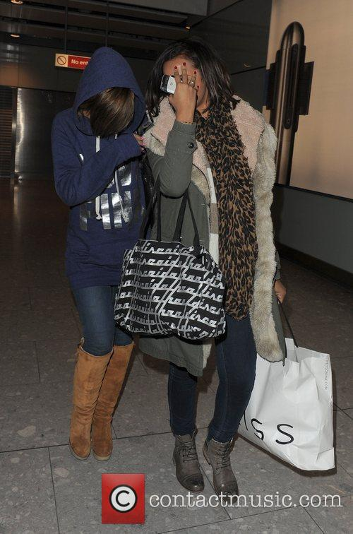Frankie Sandford and Rochelle Wiseman from girl group...