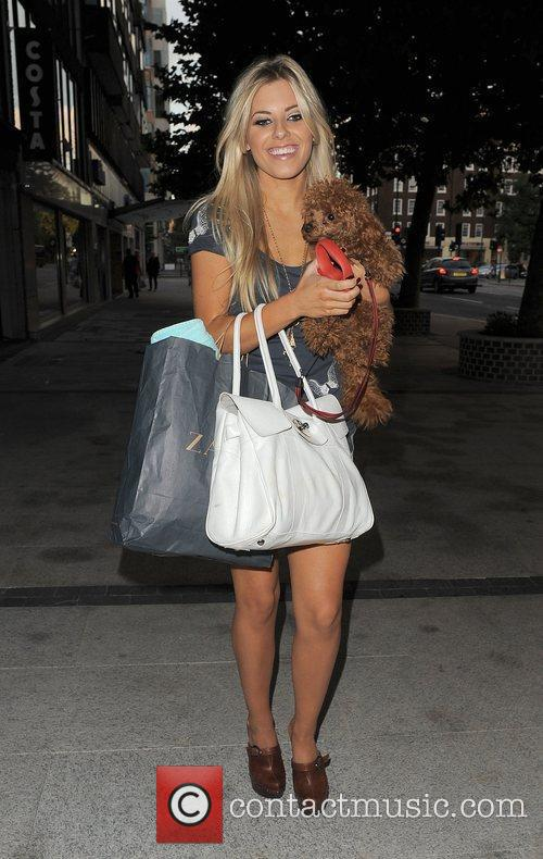 Mollie King from girl group The Saturdays and...
