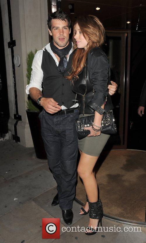 Una Healy from girl group The Saturdays and...