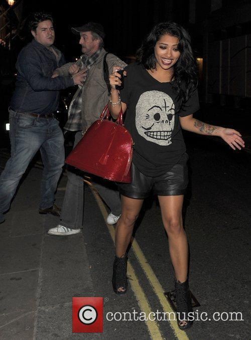 Vanessa White from girl group The Saturdays is...