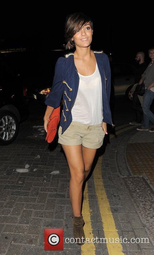 Frankie Sandford from girl group The Saturdays spends...