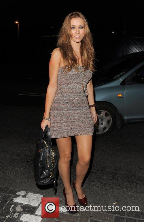Una Healy from girl group The Saturdays spends...