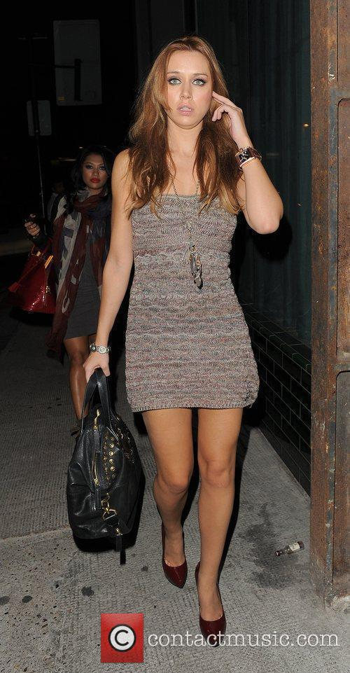 Vanessa White and Una Healy from girl group...