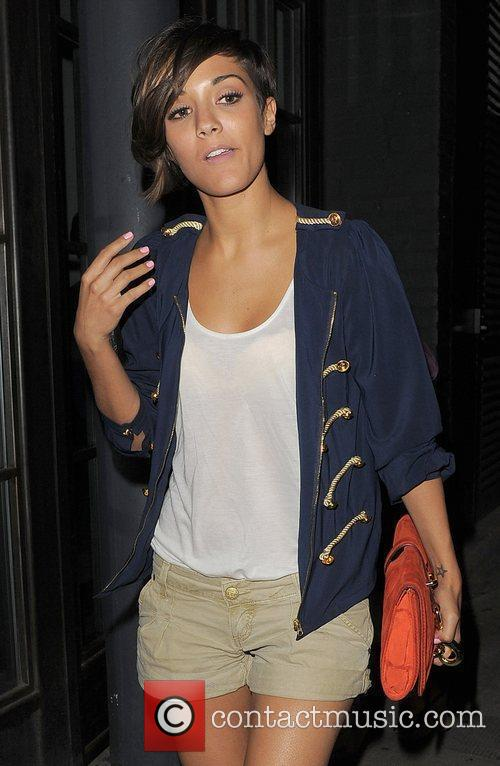 Frankie Sandford and The Saturdays 3