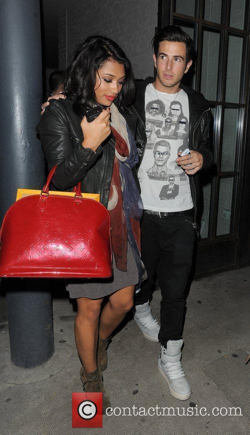 Vanessa White from girl group The Saturdays, leaving...