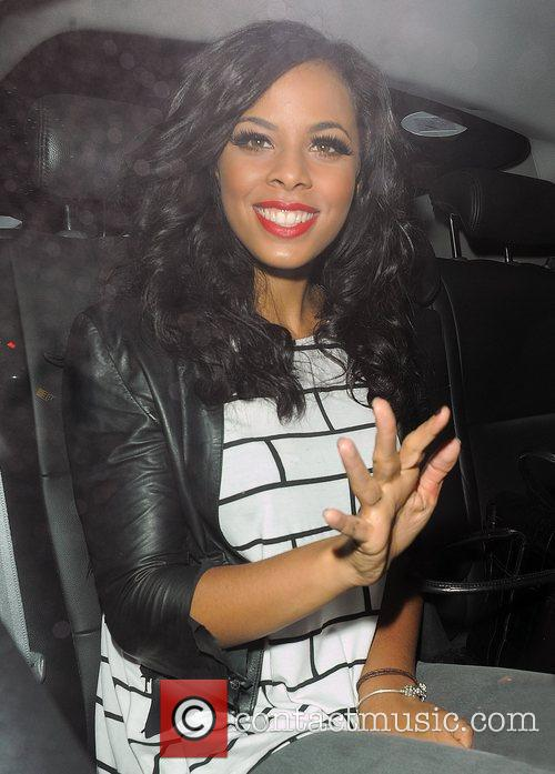Rochelle Wiseman from girl group The Saturdays, leaving...