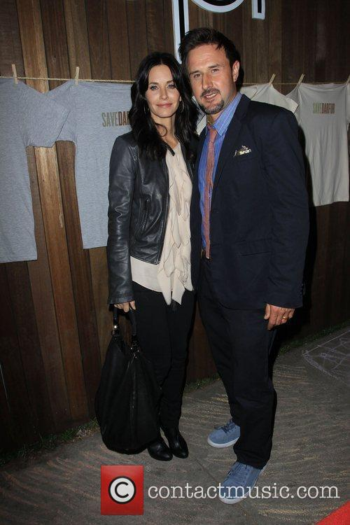 Courteney Cox and David Arquette Official Launch Party...