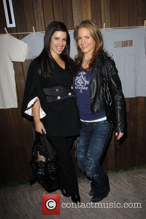 Josie Davis and Friend Gina 9
