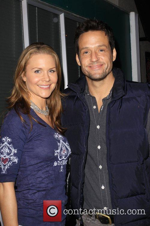 Josie Davis and Date Josh Hopkins Official Launch...