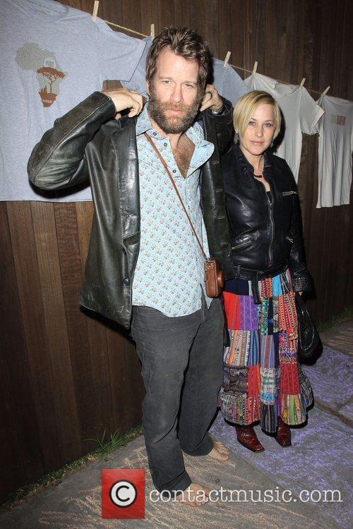 Patricia Arquette and Thomas Jane Official Launch Party...