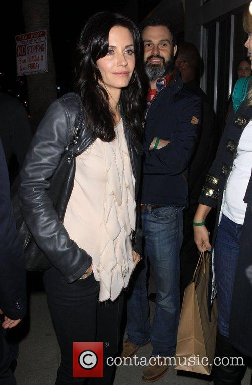 Courtney Cox Official Launch Party for Save Darfur...
