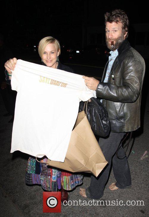 Patricia Arquette and Husband Thomas Jane 5