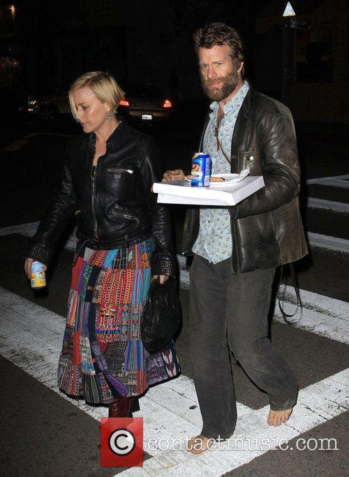 Patricia Arquette and Husband Thomas Jane 6