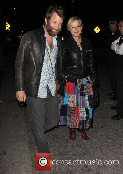 Patricia Arquette and husband Thomas Jane Official Launch...