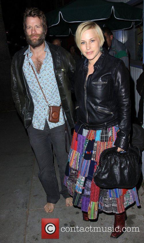 Patricia Arquette and Husband Thomas Jane 3