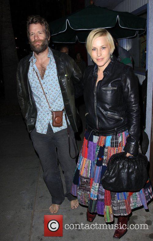 Patricia Arquette and Husband Thomas Jane 7