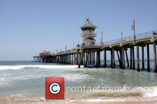 Huntington Beach Pier participates in the 3rd Annual...
