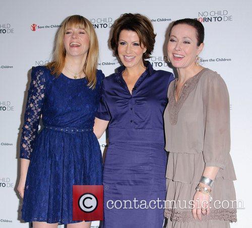 Edith Bowman, Amanda Mealing and Natasha Kaplinsky 2