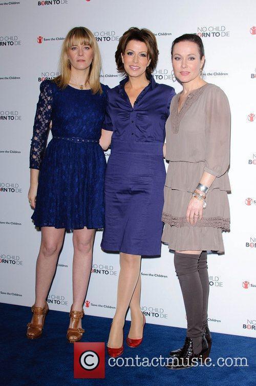 Edith Bowman, Amanda Mealing and Natasha Kaplinsky 4